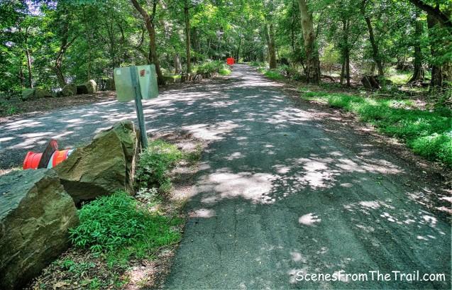 paved park road