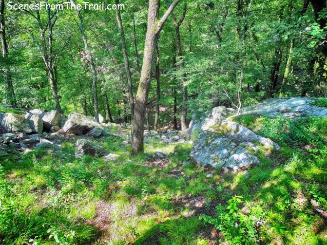 steep rocky slope