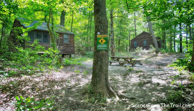 Mills Norrie State Park cabins