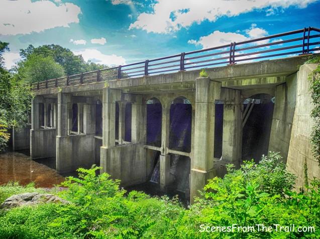 Lake Sebago dam