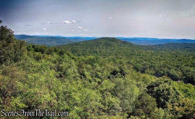 view from Overlook Rock