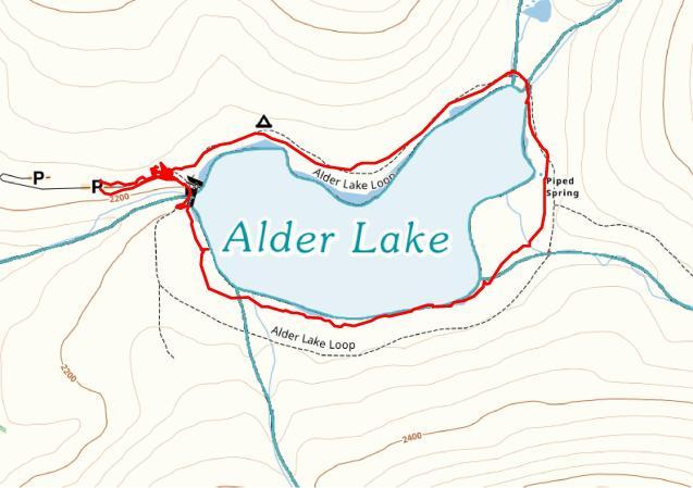 Alder Lake Loop