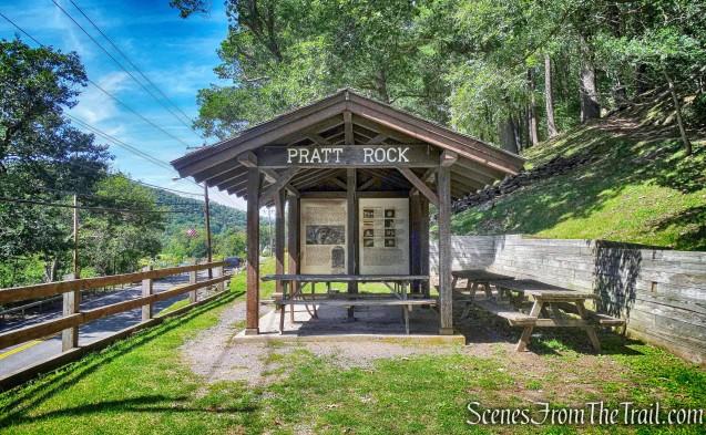 Pratt Rock kiosk