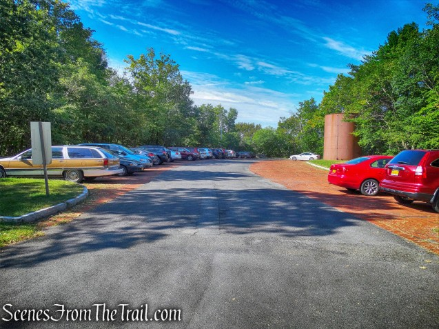 Olana parking area