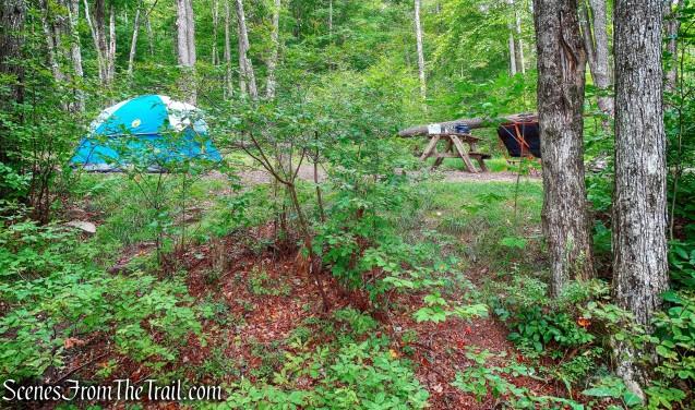 designated campsite