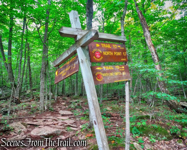 Mary's Glen Trail to North Point