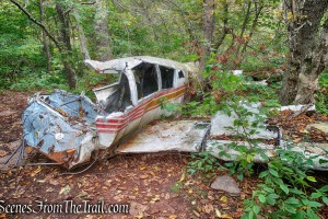Stoppel Point plane crash site