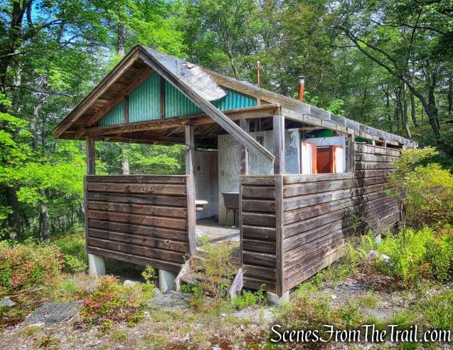 abandoned latrine