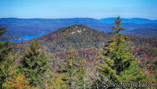 Goodman Mountain as viewed from Coney Mountain summit
