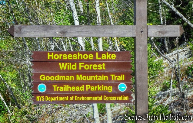 Goodman Mountain trailhead
