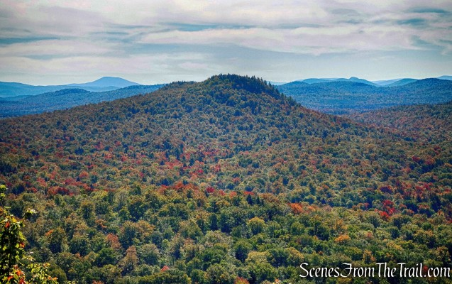 Coney Mountain as viewed from Goodman Mountain summit