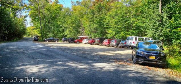 Mount Arab trailhead parking