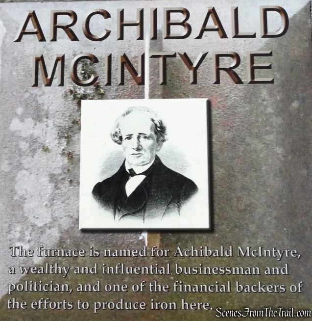 old McIntyre Blast Furnace