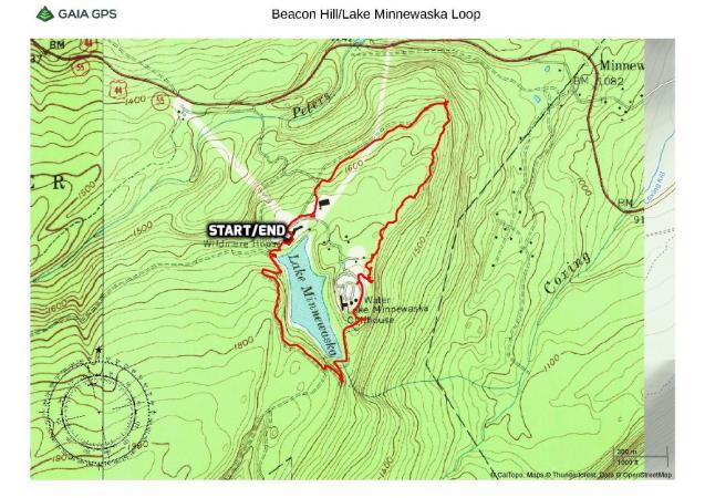 Beacon Hill/Lake Minnewaska Loop - Minnewaska State Park Preserve