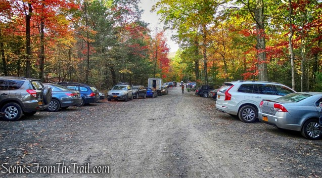 West Trapps Trailhead Parking Area
