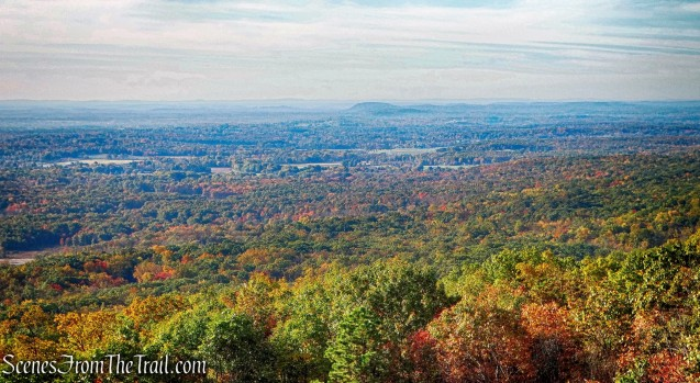 View of the Wallkill Valley - Undercliff Road