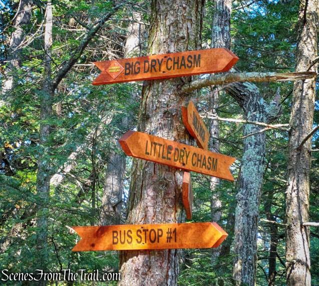 Dry Chasm Trail