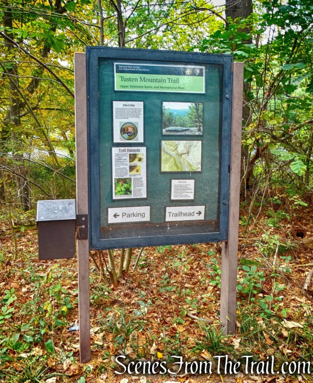 kiosk - Tusten Mountain Trail