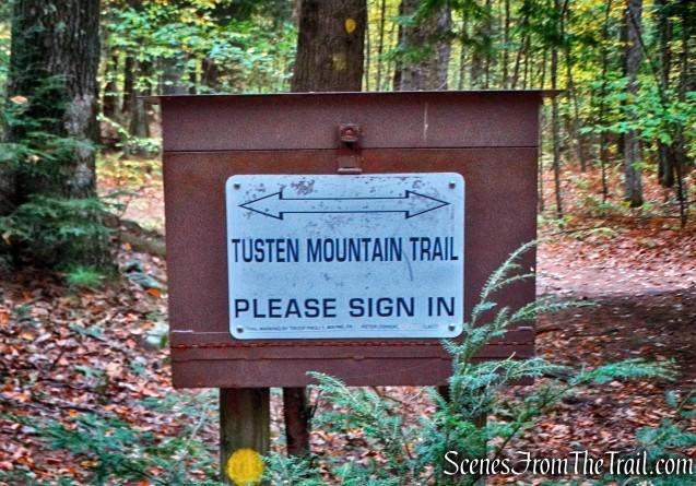 trail register - Tusten Mountain Trail