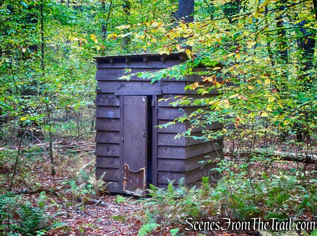 outhouse - Boy Scout camp