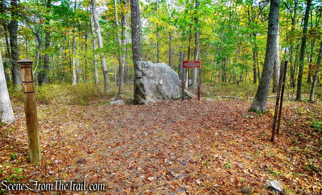 Indian Rock - Minisink Battleground Park