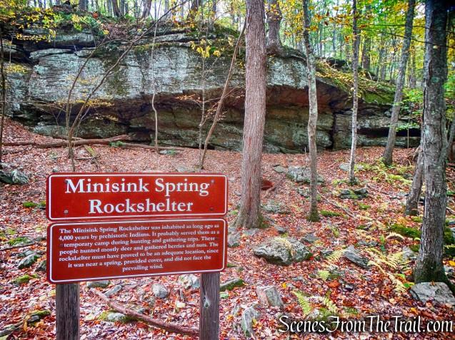 Minisink Spring Rockshelter