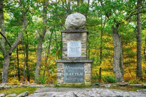 The Minisink Battle Monument