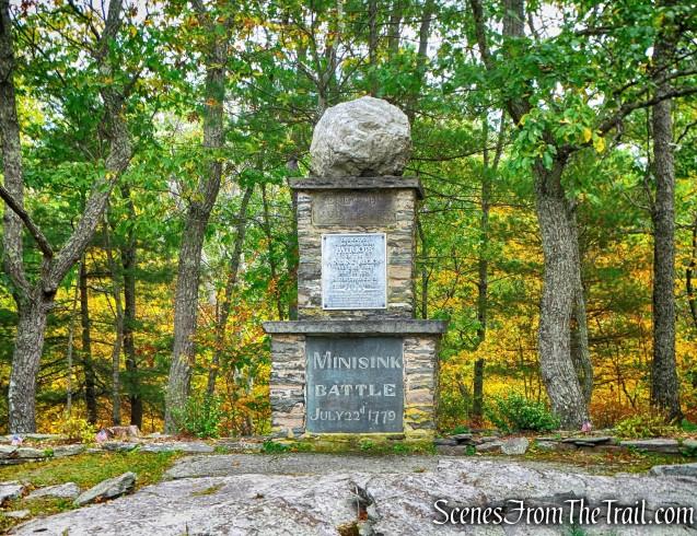 The Minisink Battle Monument