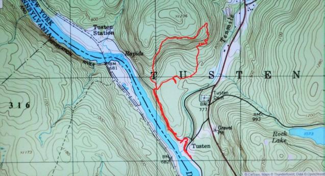 Tusten Mountain Trail