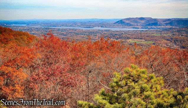east-facing viewpoint - Jessup Trail