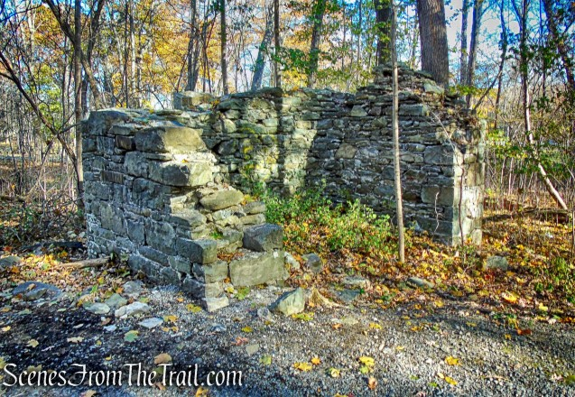 ruined stone building - Algonquin Park
