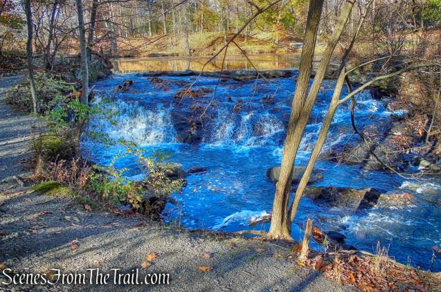 cascading stream - Algonquin Park