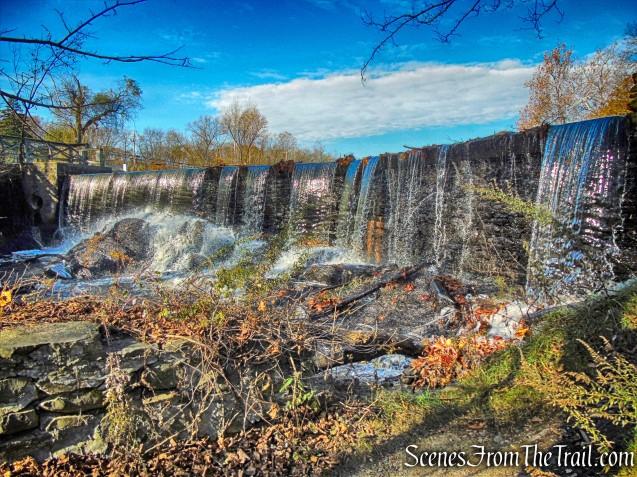 dam waterfall - Algonquin Park