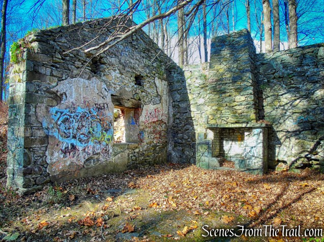 ruined stone building - Algonquin Park