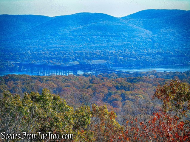 View of Newburgh-Beacon Bridge from Observation Tower - Cronomer Hill Park