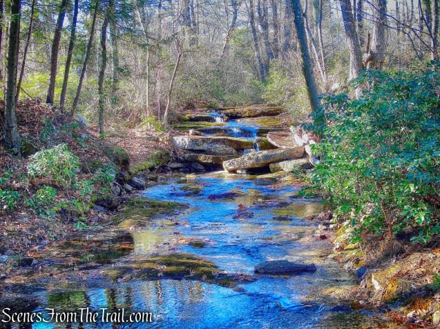 cascade - Jenny Lane Footpath