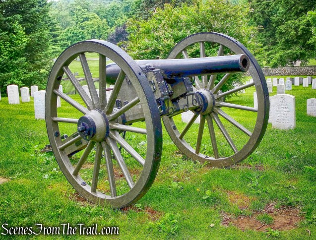 Parrott Rifle - Gettysburg National Military Park - June 16, 2016