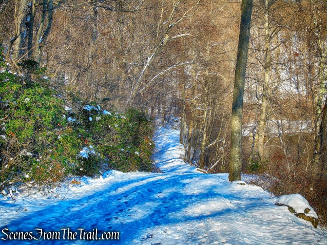 park road - Bear Mountain State Park
