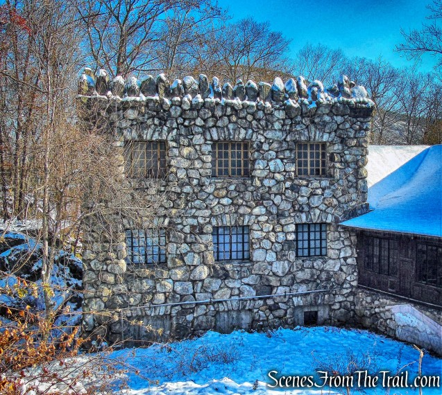 stone building - Bear Mountain