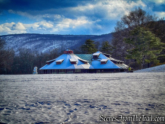 merry-go-round building - Bear Mountain State Park