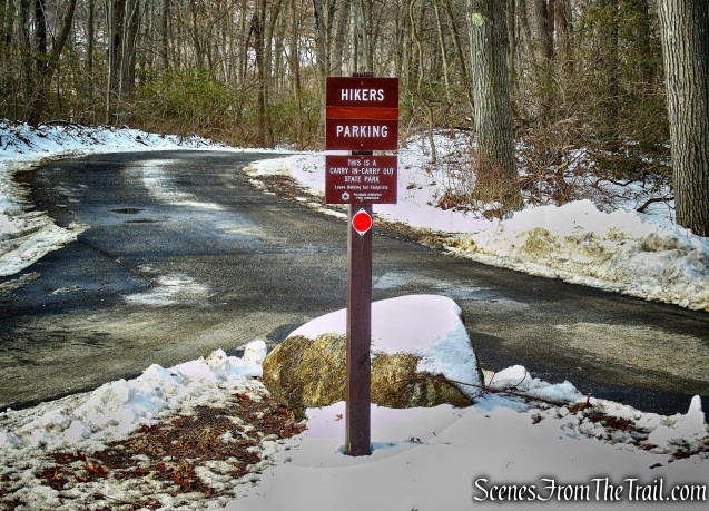 hikers parking - St. Johns Road