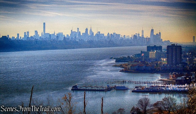 view of NYC - Fort Lee Historic Park