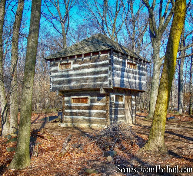blockhouse - Fort Lee Historic Park