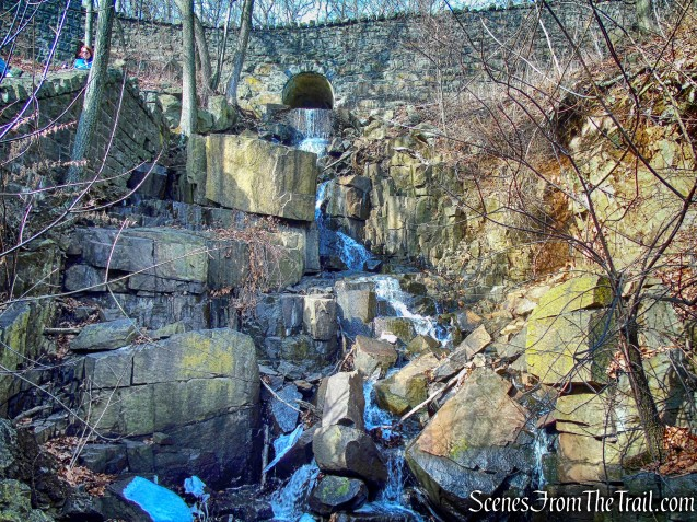 waterfall - Dyckman Hill Trail