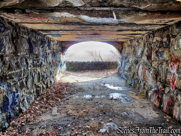 underpass - Dyckman Hill Trail