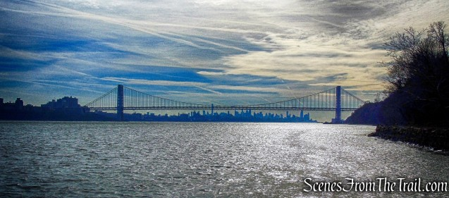 George Washington Bridge from the Englewood Boat Basin