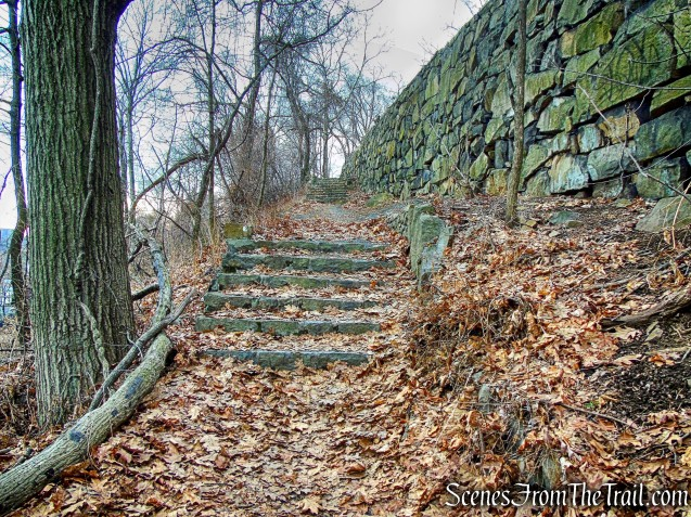 stone steps - Shore Trail