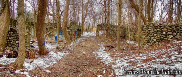 general purpose building - Mohegan Farm ruins