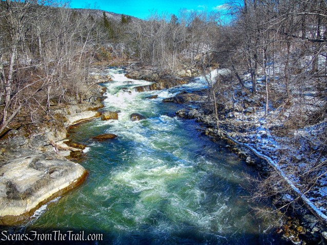 waterfalls and rapids - Housatonic River