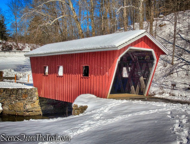 Kent Falls Covered Bridge